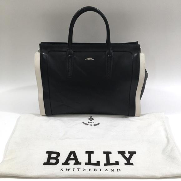 Bally Handbags - Large Bally Bag Leather Tote